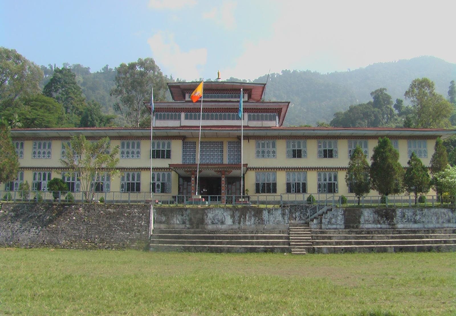 Academic building of College